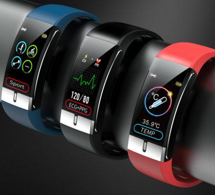 E66 ECG Temperature Smart Band