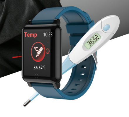 F54 Temperature Smart Band