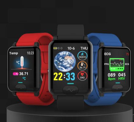 E04S ECG Temperature Smart watch