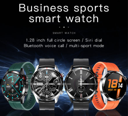 CK29 Business sports Bluetooth call Temp. smart watch